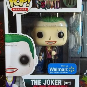 Funko POP! The Joker [Suit] Suicide Squad Walmart